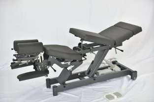 Electric Chiropractic table with breakaway
